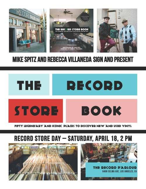 RecordStoreBookPosterRecordParlour