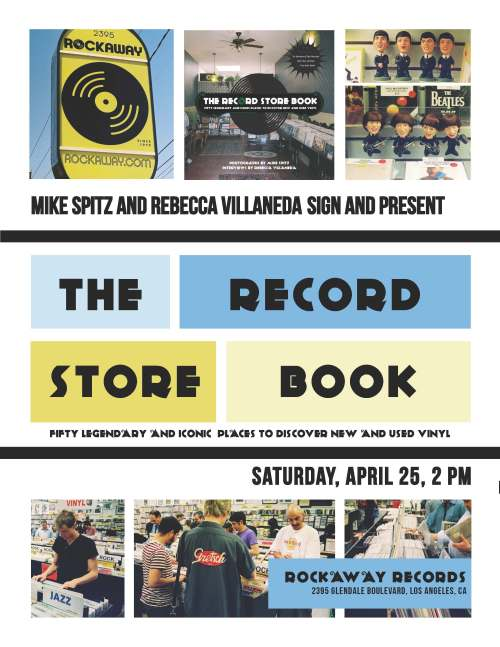 RecordStoreBookPosterRockaway